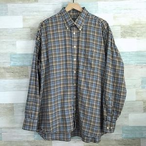 Gingham Flannel Shirt Gitman Bros